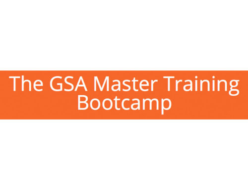 GSA Master Training